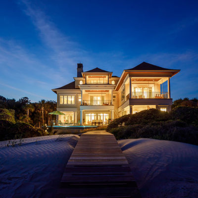 Custom Home On Eugenia Avenue On Kiawah Island - Camens Architectural Group