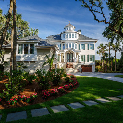 Custom Home On Eugenia Avenue On Kiawah Island - Camens Architectural Group