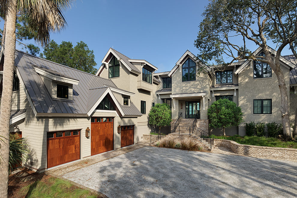 Custom home on High Dunes Lane on Kiawah Island, SC - Camens Architectural Group
